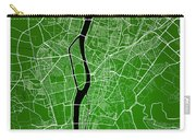 Cairo Street Map - Cairo Egypt Road Map Art On Colored Backgroun Carry-all Pouch