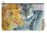 Kitty And Kat Carry-all Pouch