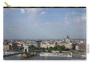 Chain Bridge On Danube River Budapest Cityscape Carry-all Pouch
