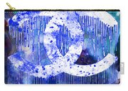 Chanel Art Print Carry-all Pouch