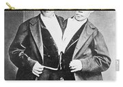 Chang And Eng, Siamese Twins Carry-all Pouch