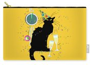 Chat Noir New Years Party Countdown Carry-all Pouch