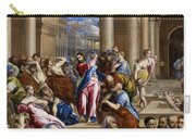 Christ Driving The Money Changers From The Temple Carry-all Pouch