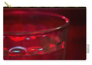 Christmas Theme Glass Of Water Carry-all Pouch