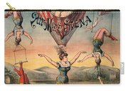 Circus Poster, C1890 Carry-all Pouch