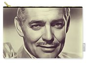 Clark Gable, Vintage Actor Carry-all Pouch