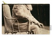 Claude Monet In His Garden Carry-all Pouch