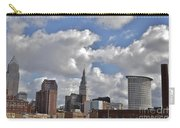 Cleveland Skyline From The Flats River District Carry-all Pouch