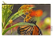 Clinging Butterfly Carry-all Pouch