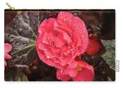 Close-up Of Pink Flowers In Bloom Carry-all Pouch