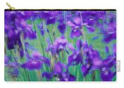 Close-up Of Purple Flowers Carry-all Pouch