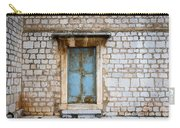 Closed Door Of An Old Chapel In Croatia Carry-all Pouch