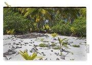 Coconut Palms On A Polynesian Beach Carry-all Pouch