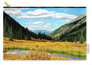 Colorado Mountain Lake In Fall Carry-all Pouch