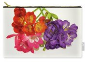 Colorful Freesia Carry-all Pouch
