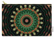 Colorful Kaleidoscope Incorporating Aspects Of Asian Architectur Carry-all Pouch