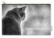 Contemplation Monochrome Carry-all Pouch