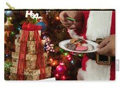 Cookies And Milk For Santa Carry-all Pouch