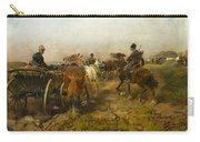 Cossacks Returning Home On Horseback Carry-all Pouch