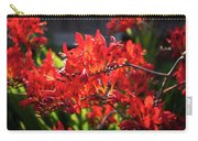 Crocosmia Lucifer Carry-all Pouch