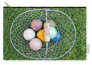 Croquet Balls Carry-all Pouch