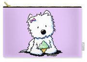 Cupcake Westie Carry-all Pouch