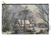 Currier & Ives: Winter Scene Carry-all Pouch