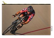 Cycle Racing On The Curve Carry-all Pouch