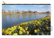 Daffodils Beside The Thames At Hampton Court London Uk Carry-all Pouch