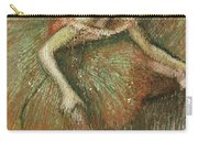 Dancers Carry-all Pouch by Edgar Degas