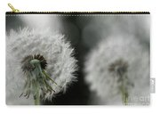 Dandelion Close-up Carry-all Pouch