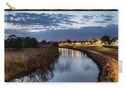 Dawn Over The Town River Carry-all Pouch