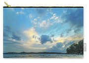 Dawn Seascape With Cloudy Sky Carry-all Pouch