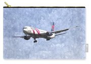 Delta Airlines Boeing 767 Art Carry-all Pouch