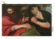 Democritus And Heraclitus Carry-all Pouch