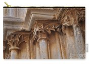 Detail Of The Medieval Portal Of Saint Marys Church In Tavira. Portugal Carry-all Pouch