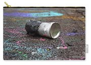 Discarded Spray Paint Can Carry-all Pouch