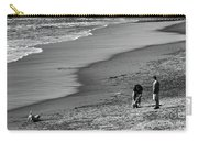 2 Dogs 2 Men Beach  Carry-all Pouch