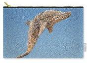 Dolphin Shell Art Sculpture Carry-all Pouch