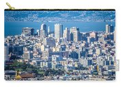 Downtown San Francisco City Street Scenes And Surroundings Carry-all Pouch