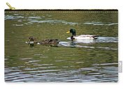 2 Ducks Carry-all Pouch