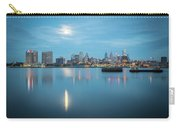 early morning sunrise over city of philadelphia PA Carry-all Pouch