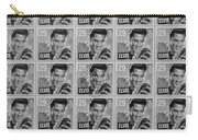 Elvis Commemorative Stamp January 8th 1993 Painted Bw Carry-all Pouch