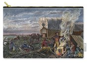Emigrants To The West Carry-all Pouch by Granger