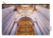 Entrance Of The Syracuse Baroque Cathedral In Sicily - Italy Carry-all Pouch