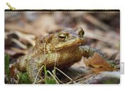 European Toad Carry-all Pouch