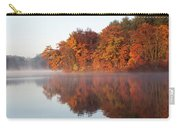 Fall Sunrise At Cox Hollow Lake In Governor Dodge State Park Carry-all Pouch
