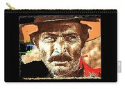 Film Homage Lee Van Cleef Spaghetti Westerns Publicity Photo Collage 1966-2008 Carry-all Pouch