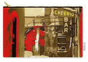 Film Noir William H. Macy Steve Buscemi Fargo 1996 Cheerio Bar Aberdeen South Dakota 1965-2008 Carry-all Pouch