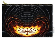 Fire Polar Coordinates Effect Carry-all Pouch